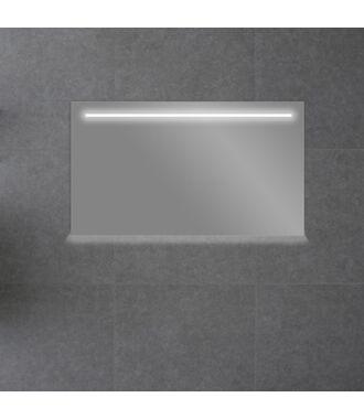 Badkamerspiegel met LED Verlichting 160 met Spiegelverwarming en Onderverlichting