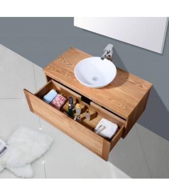 Badkamermeubel Verona Wood Eiken 100 cm