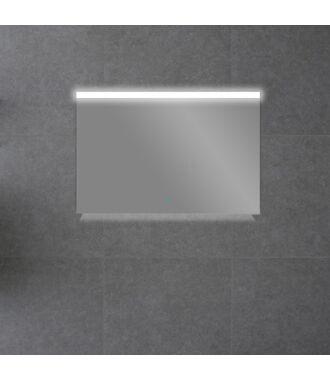 Badkamerspiegel met Boven en Onderverlichting 100 met Spiegelverwarming