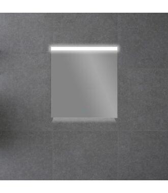 Badkamerspiegel met Boven en Onderverlichting 60 met Spiegelverwarming