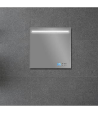 Badkamerspiegel met LED/TL Verlichting, Radio en Bluetooth 60 cm