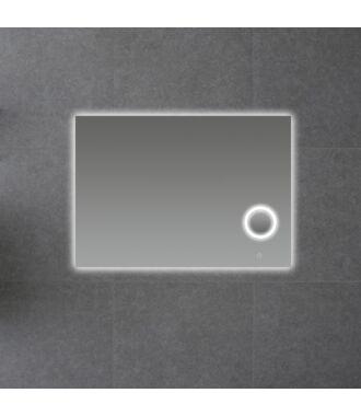 Badkamerspiegel met LED Verlichting en Make Up Spiegel met Touch en Dimbaar in 3 Standen 100 cm met Spiegelverwarming