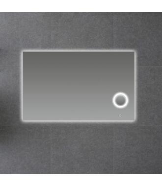 Badkamerspiegel met LED Verlichting en Make Up Spiegel met Touch en Dimbaar in 3 Standen 120 cm met Spiegelverwarming