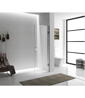 Douchedeur zonder Profiel RVS304 Nano Clean Anti Kalk 90x200 cm