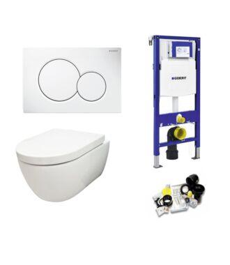 Geberit UP320 Toiletset Sani Royal Compact Rimfree 49 cm Sigma 01 Wit