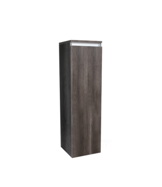 Half Hoge Kolomkast 120 cm Century Oak