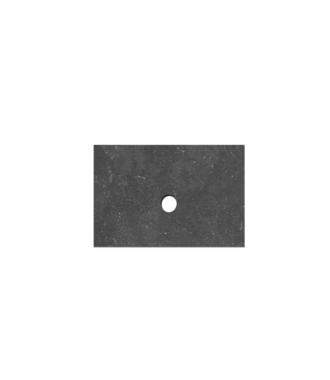 Natuursteen Top paneel 60 cm met 1 afvoergat
