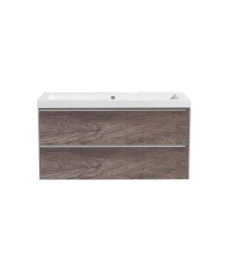Badkamermeubel Actio PL 100 cm Century Oak