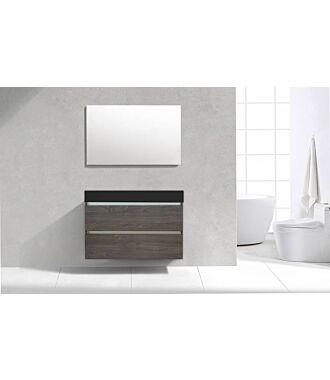 Badkamermeubel Generation Sherwood Warm Grey 100 cm Quartz Design