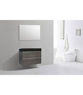 Badkamermeubel Generation Sherwood Warm Grey 80 cm Quartz Design