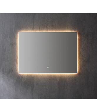 Spiegel Infinity Indirect LED verlichting 120 cm met Spiegelverwarming