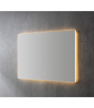 Spiegel Infinity Indirect LED verlichting 60 cm met Spiegelverwarming