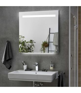 Badkamerspiegel met LED Verlichting met Onderverlichting 160 cm