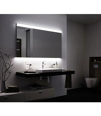 Badkamerspiegel met LED verlichting 60 cm Boven en Onderverlichting Classic met Verwarming Anti Condens