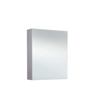 Spiegelkast zonder Verlichting 58 cm Wit