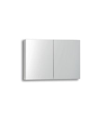Spiegelkast zonder Verlichting 80 cm Wit