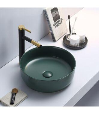 Waskom Rond Victoria Color Line Jade groen ( mat)