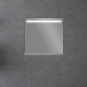Badkamerspiegel met LED Verlichting met Onderverlichting 60 cm