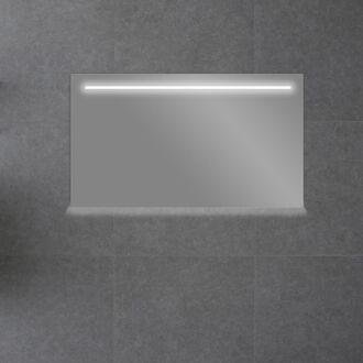 Badkamerspiegel met LED Verlichting met Onderverlichting 160 cm met Spiegelverwarming