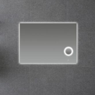Badkamerspiegel met LED Verlichting en Make Up Spiegel met Touch en Dimbaar in 3 standen 100 cm