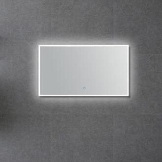 Badkamerspiegel rondom LED Verlichting Arezzo met Touch en Dimbaar in 3 Standen 100 cm
