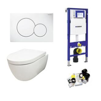 Geberit UP320 Toiletset Sani Royal Standaard Rimfree 55 cm Sigma 01 Wit