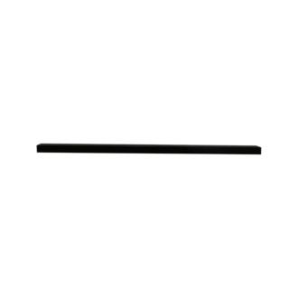 Handgreep Mat Zwart 64 cm