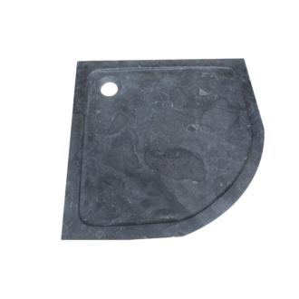 Douchebak Natuursteen Kwartrond 90x90x4 cm