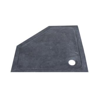 Douchebak Natuursteen Vijfhoek 90x90x4 cm