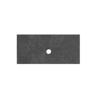 Natuursteen Top paneel 100 cm met 1 afvoergat