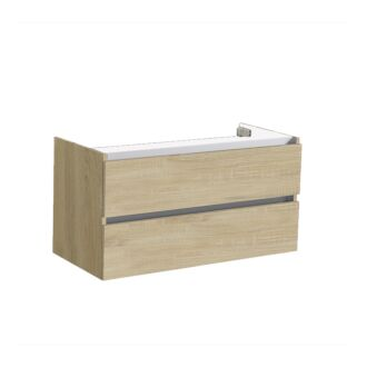 Onderkast Trento Greeploos 100 Light Wood