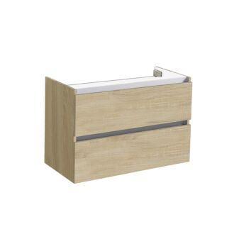 Onderkast Trento Greeploos 80 Light Wood