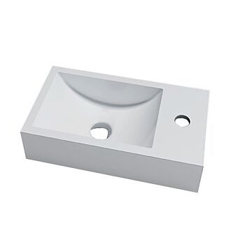 Solid Surface Fontein Recto 40x22x10 cm