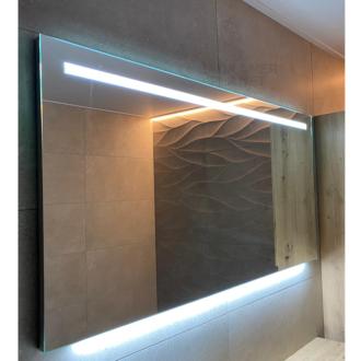 Badkamerspiegel met LED Verlichting met Onderverlichting 120 cm