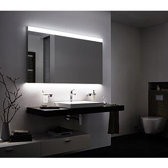 Badkamerspiegel met LED verlichting 120 cm Boven en Onderverlichting Classic met Verwarming Anti Condens