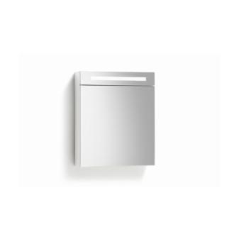 Spiegelkast 58 cm met TL Verlichting Wit